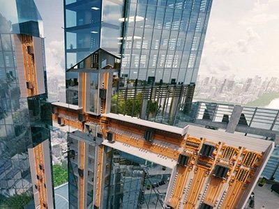 иновативен асансьор ThyssenKrupp MULTI