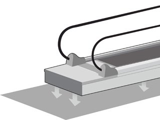 травелатор ThyssenKrupp iwalk инсталиране