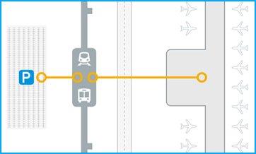 травелатор ACCEL схема приложение транспортни възли