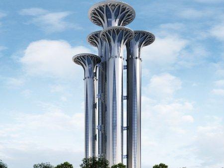 Олимпийската кула в Пекин