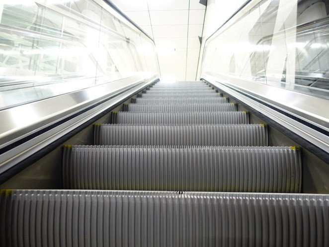 ескалатор ThyssenKrupp Tugela стъпала