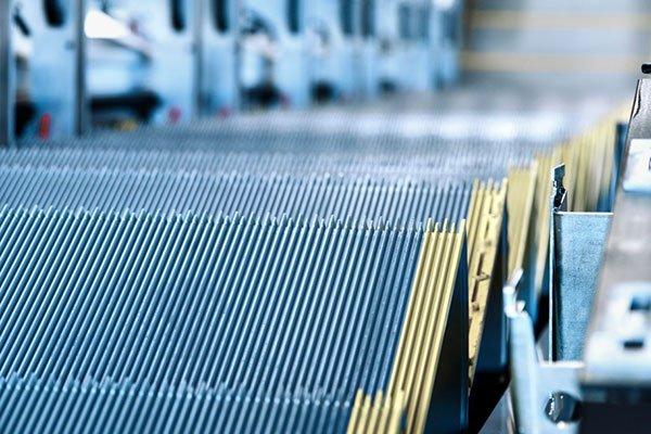 ескалатор ThyssenKrupp Victoria детайл стъпала