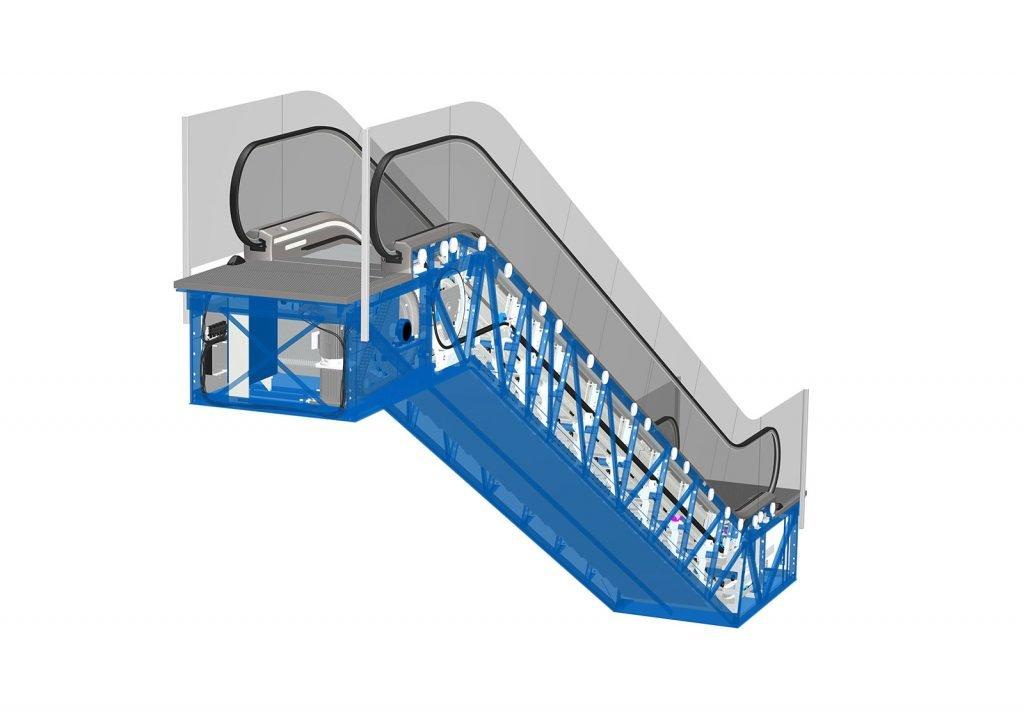 ескалатор ThyssenKrupp Velino защита от падане