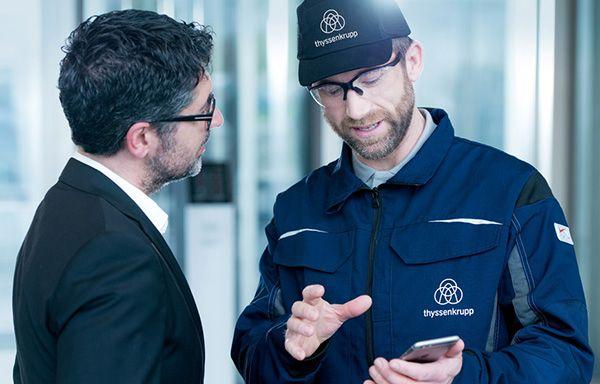 консултация със специалист на ThyssenKrupp