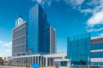 сградата на ThyssenKrupp Elevator в Китай