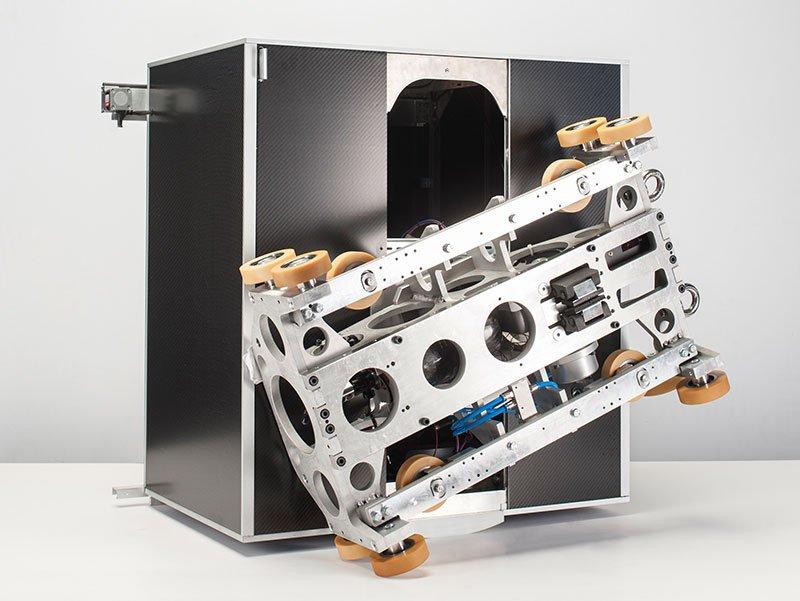 асансьорна система ThyssenKrupp Multi кабина механизъм