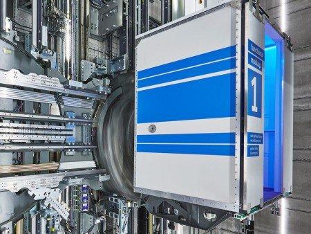 модели асансьори ThyssenKrupp Multi кабина
