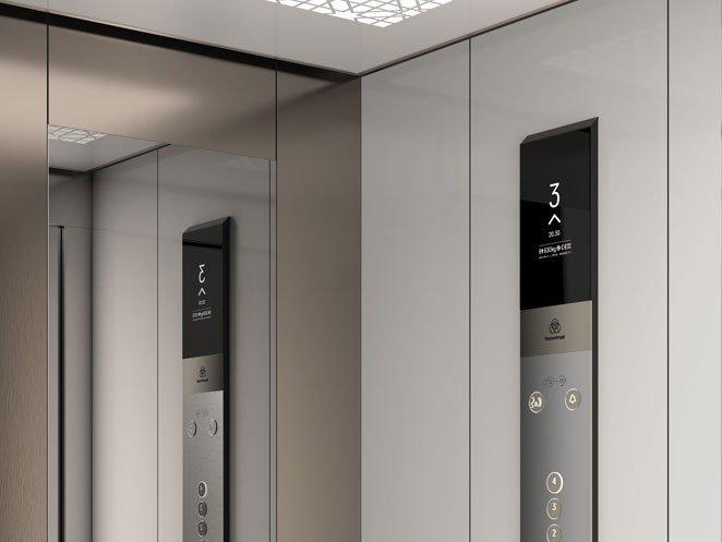 асансьор Synergy 200 детайл табло
