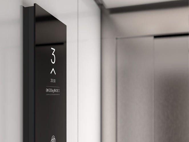 асансьор Synergy 200 детайл интериор