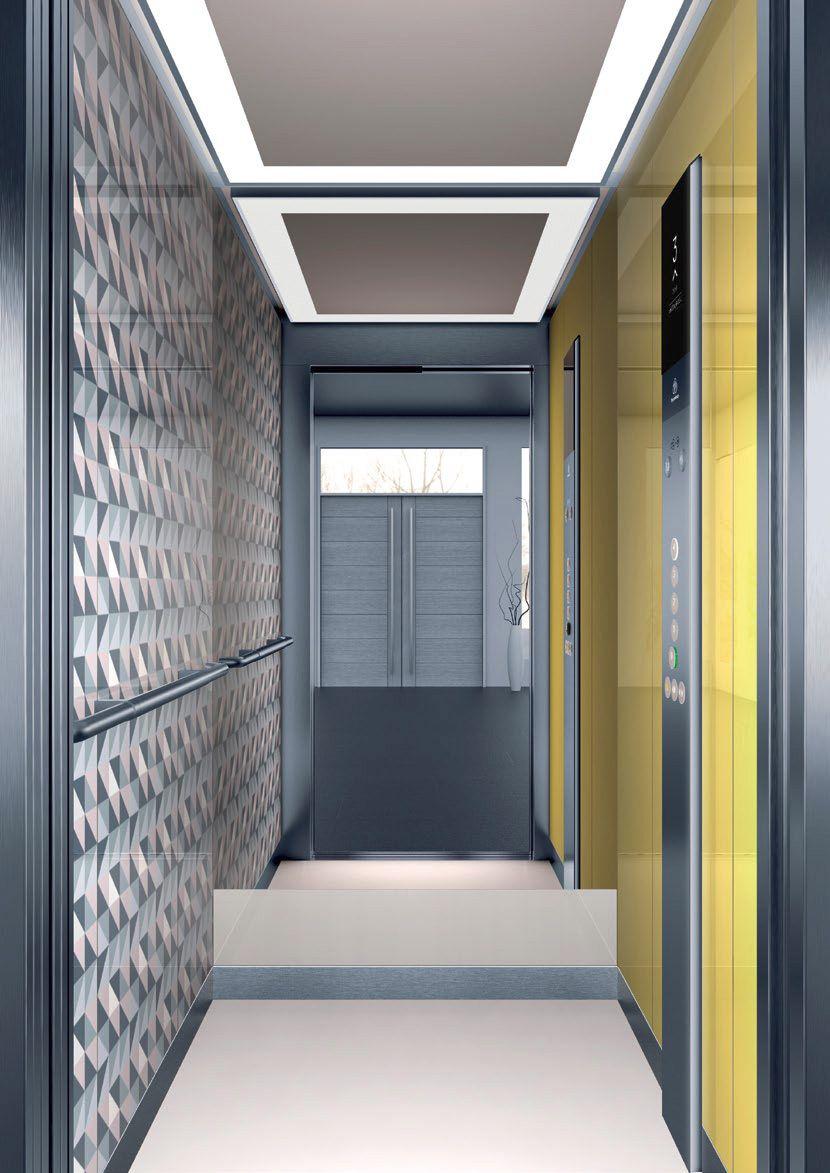 асансьор ThyssenKrupp Synergy 200 интериор