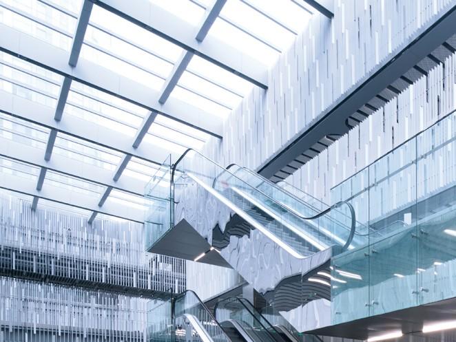 ескалатор ThyssenKrupp Velino дизайнерско решение