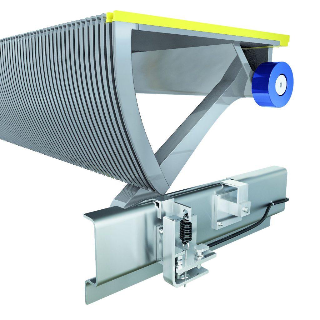ескалатор Velino - механизъм за изчисляване на натиска детайл