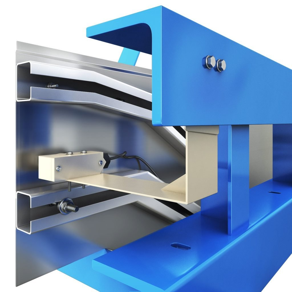 ескалатор Velino - защита от защипване детайл