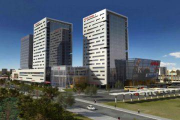 проект на сградата на Гранд МОЛ Варна