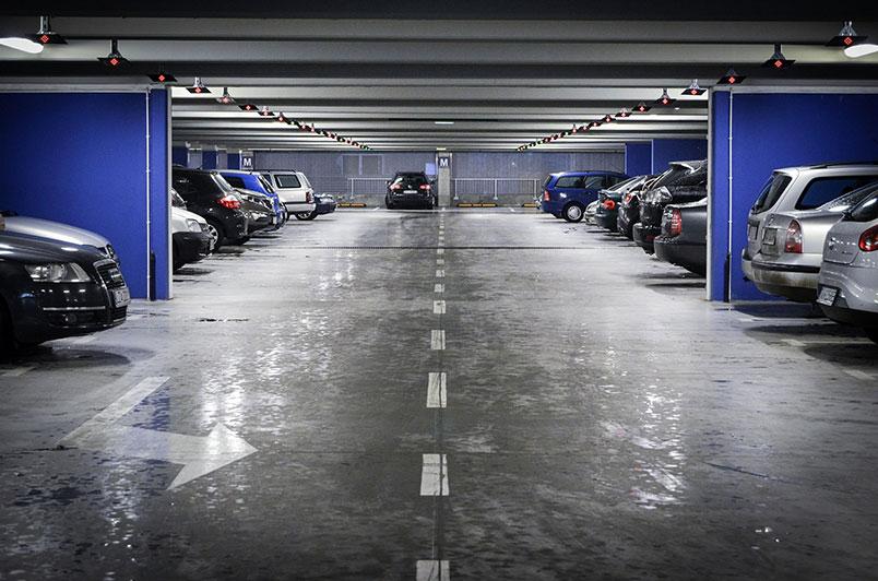 платформи за коли в подземен паркинг