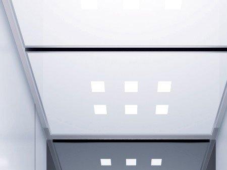 панел 3 Grille за таван на асансьор Synergy 300
