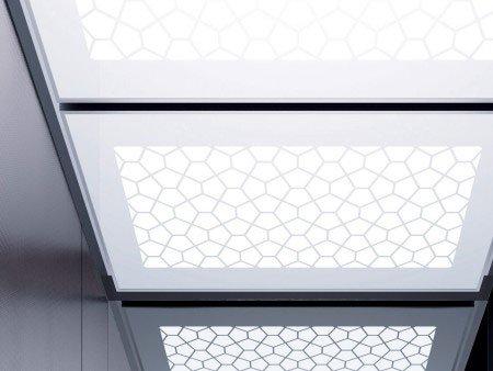 панел 7 Tiffany large за таван на асансьор Synergy 300