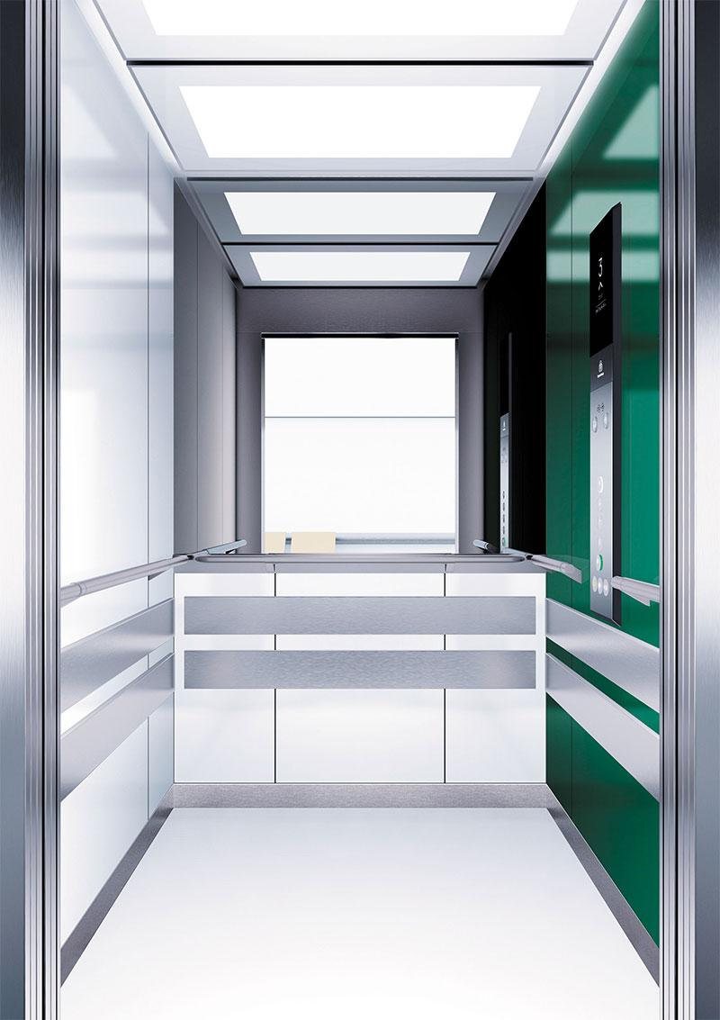 асансьор Synergy 300 проектирана кабина линия А10