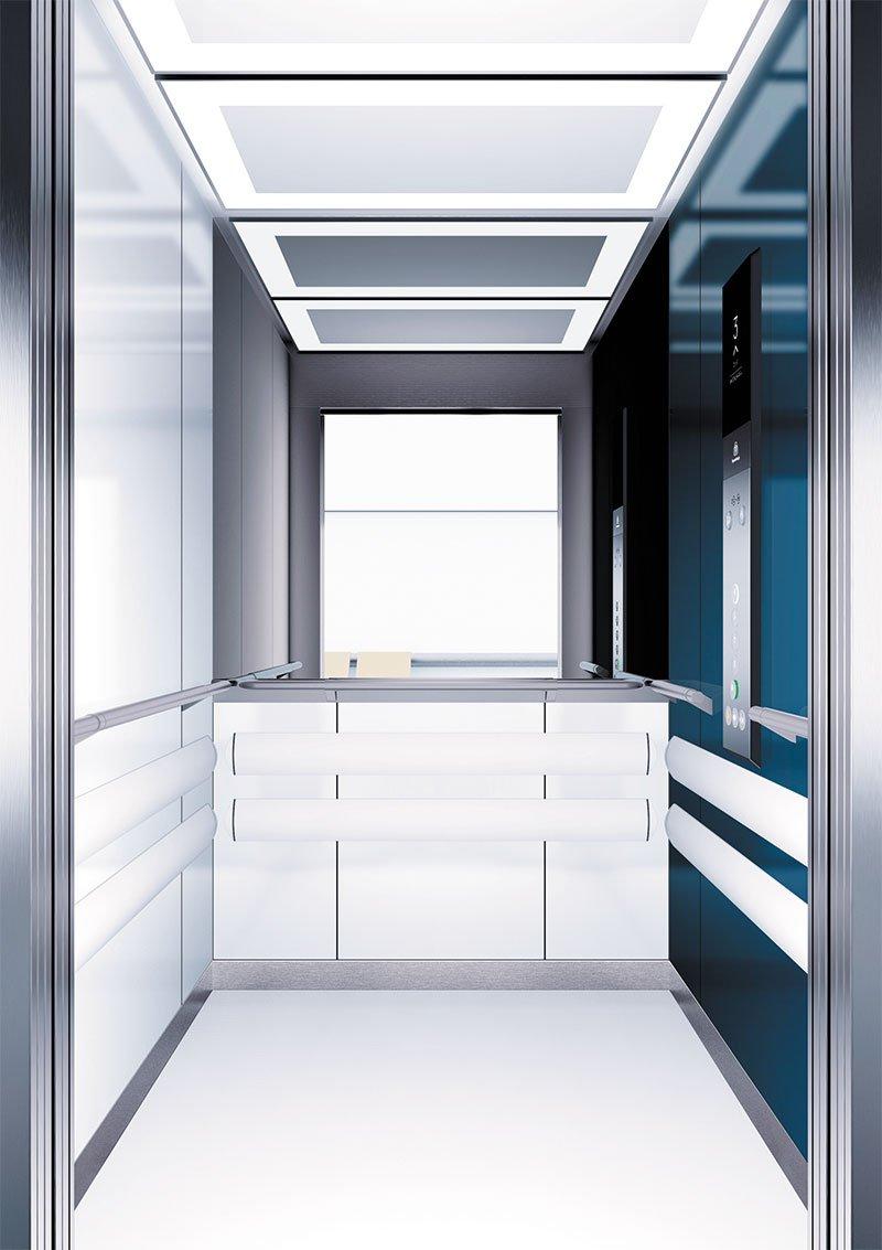 асансьор Synergy 300 проектирана кабина линия А11