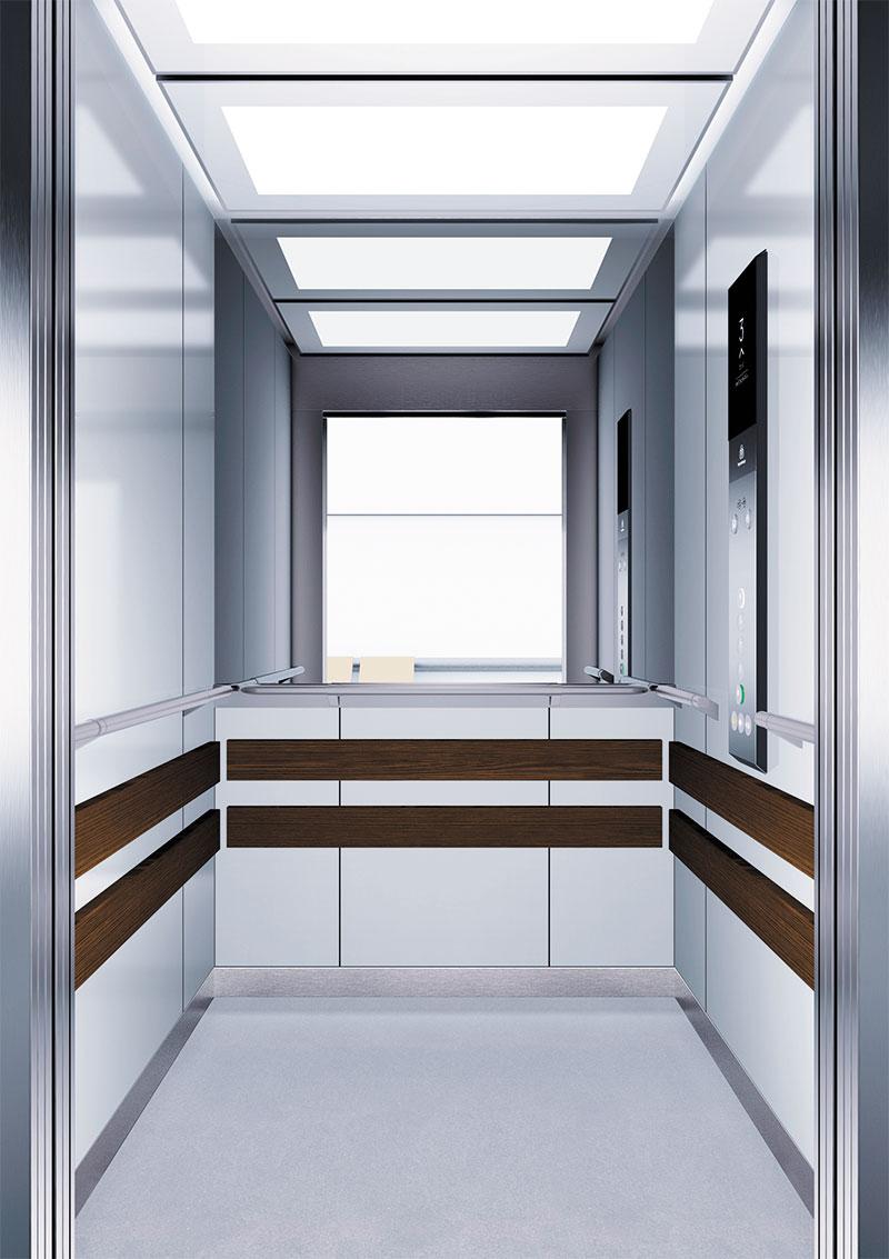 асансьор Synergy 300 проектирана кабина линия А14