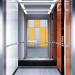 асансьор Synergy 300 проектирана кабина линия А21