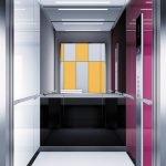 асансьор Synergy 300 проектирана кабина линия А22