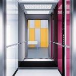 асансьор Synergy 300 проектирана кабина линия А23