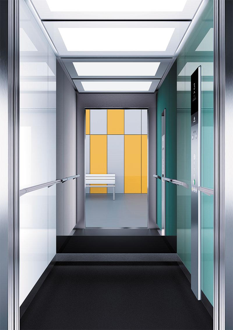 асансьор Synergy 300 проектирана кабина линия А24