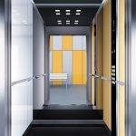 асансьор Synergy 300 проектирана кабина линия А25