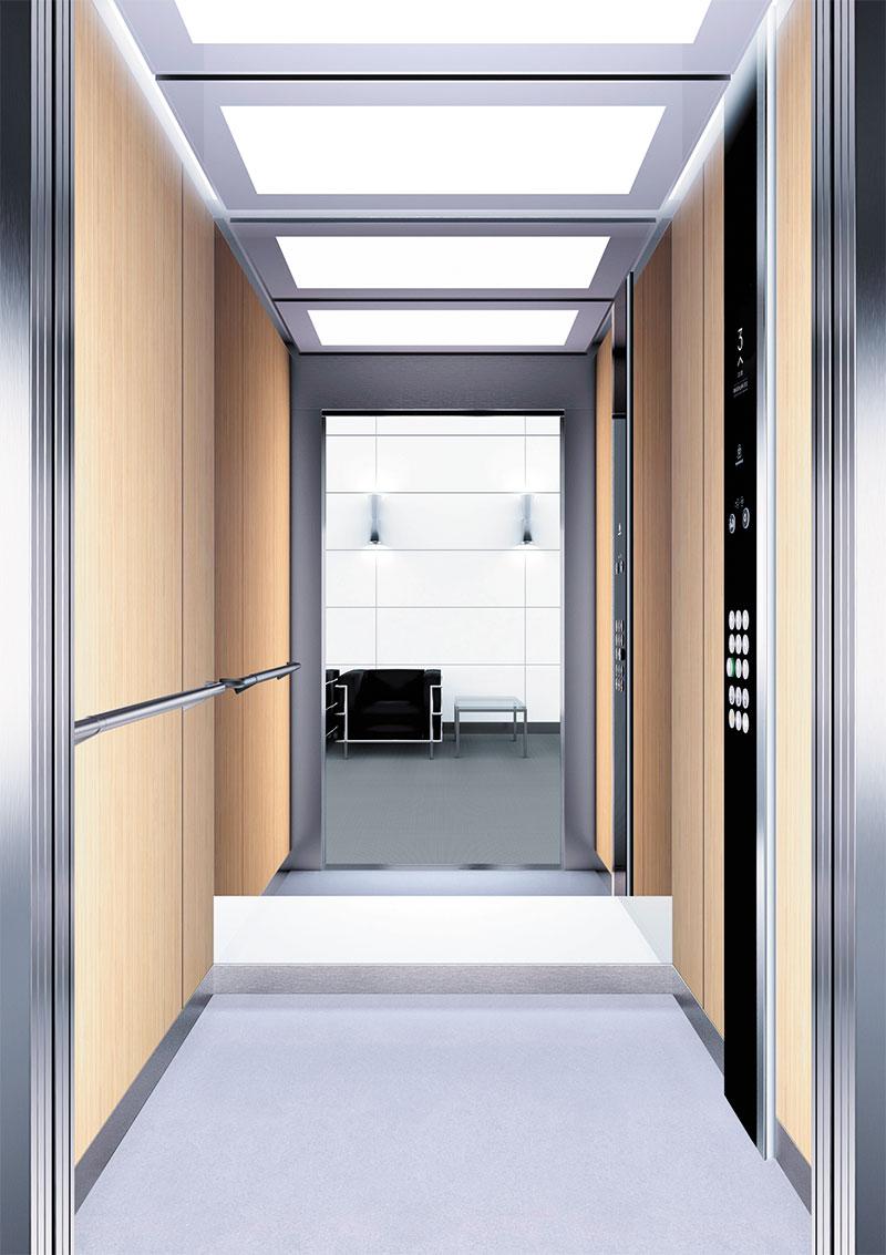 асансьор Synergy 300 проектирана кабина линия А30