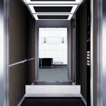 асансьор Synergy 300 проектирана кабина линия А32