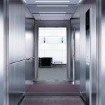 асансьор Synergy 300 проектирана кабина линия А34