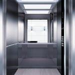 асансьор Synergy 300 проектирана кабина линия А35