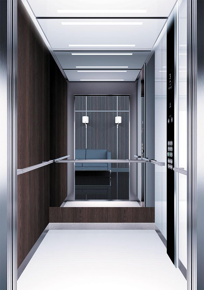 асансьор Synergy 300 проектирана кабина линия А42