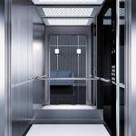 асансьор Synergy 300 проектирана кабина линия А44