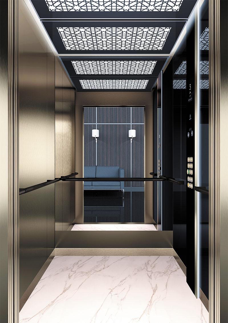 асансьор Synergy 300 проектирана кабина линия А45