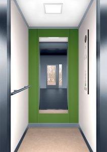 асансьорна кабина Synergy 100 - дизайнерска линия F - интериор 3