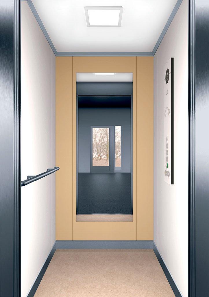 асансьорна кабина Synergy 100 - дизайнерска линия F - интериор 4