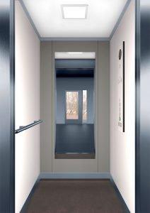 асансьорна кабина Synergy 100 - дизайнерска линия F - интериор 5