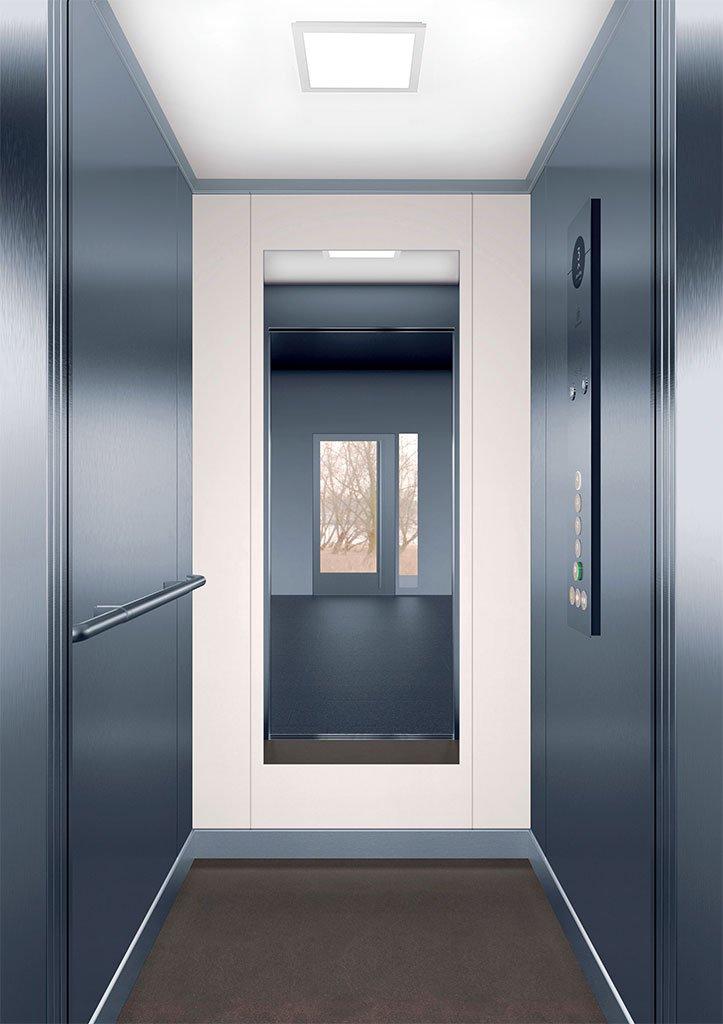 асансьорна кабина Synergy 100 - дизайнерска линия F - интериор 6