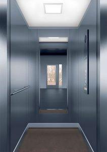 асансьорна кабина Synergy 100 - дизайнерска линия F - интериор 10
