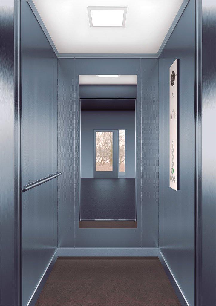 асансьорна кабина Synergy 100 - дизайнерска линия F - интериор 11