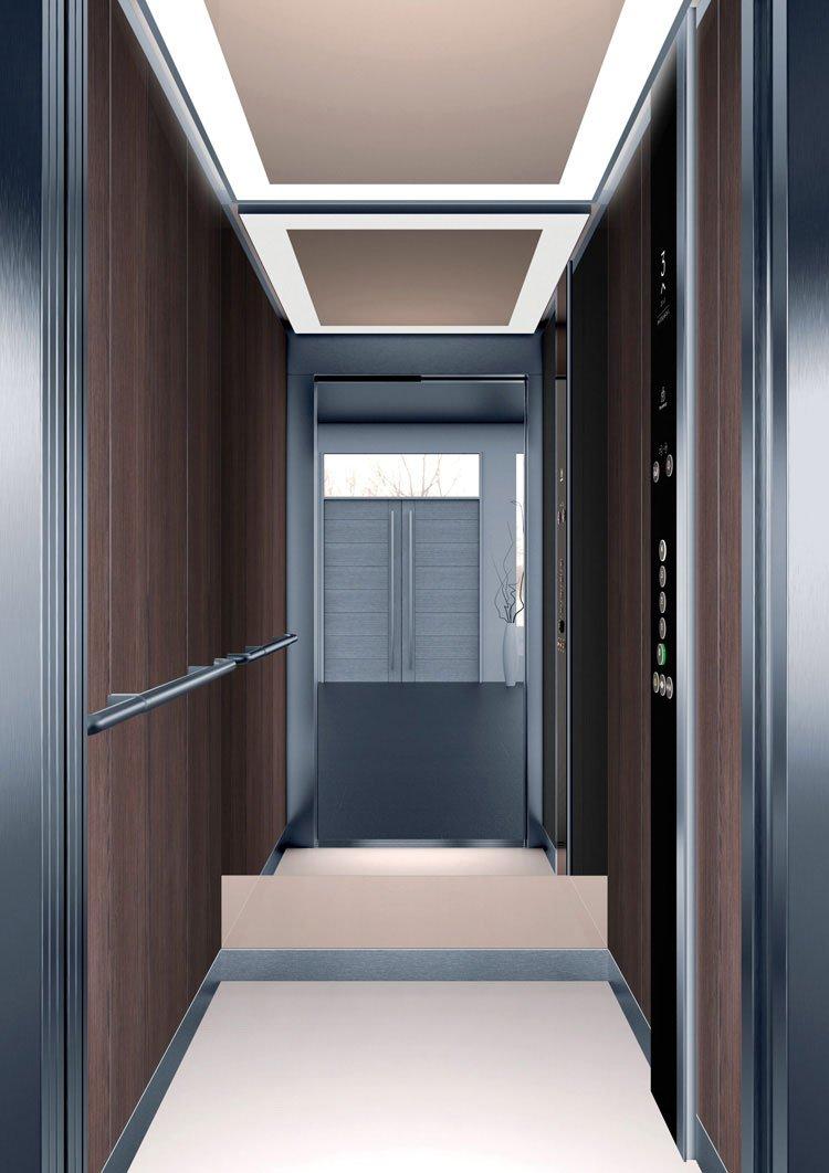 асансьор Synergy 200 - дизайнерска линия D - интериор 1