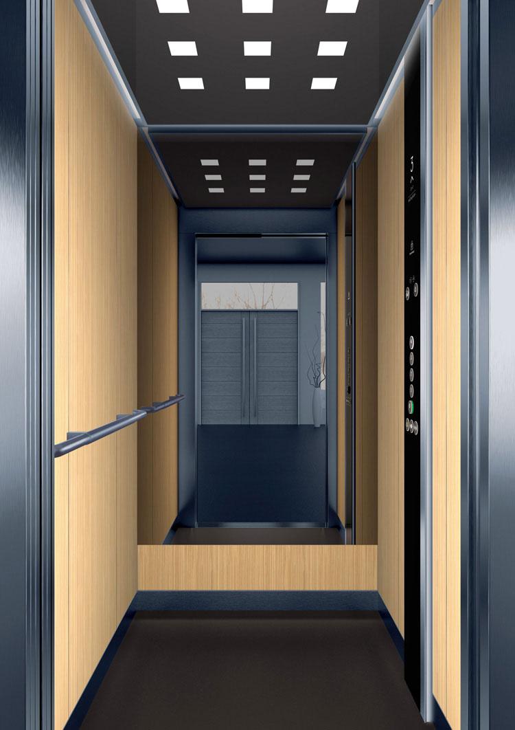 асансьор Synergy 200 - дизайнерска линия D - интериор 2
