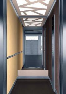 асансьор Synergy 200 - дизайнерска линия D - интериор 3