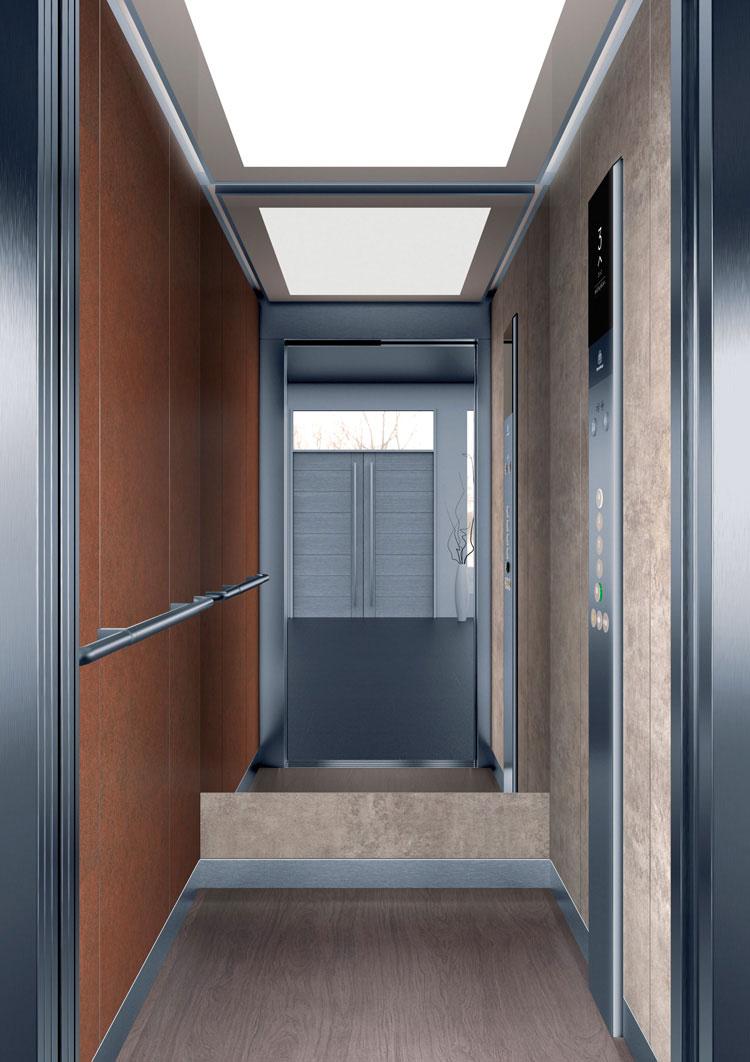 асансьор Synergy 200 - дизайнерска линия D - интериор 12