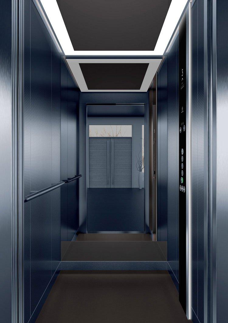 асансьор Synergy 200 - дизайнерска линия D - интериор 21