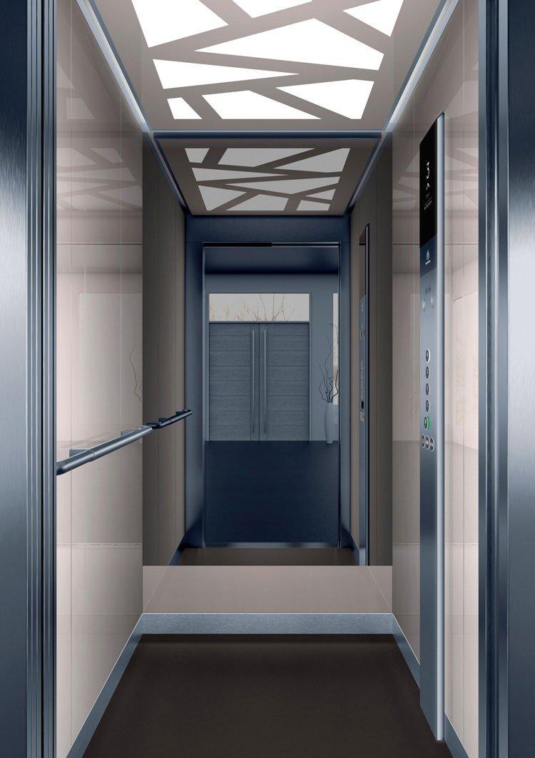 асансьор Synergy 200 - дизайнерска линия D - интериор 31