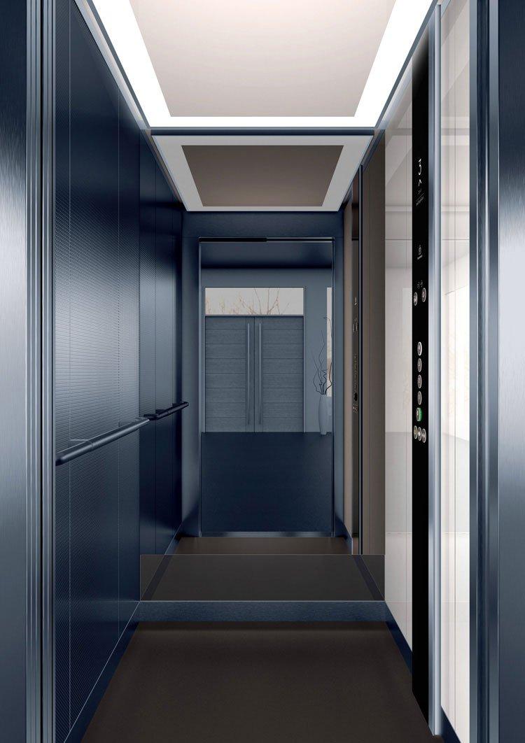 асансьор Synergy 200 - дизайнерска линия D - интериор 33
