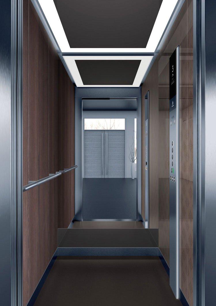 асансьор Synergy 200 - дизайнерска линия D - интериор 41